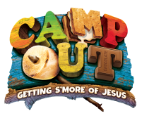 VBS 2017, Camp Out Logo