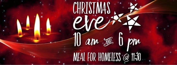 Christmas Eve service and meal